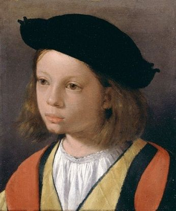 A Boy, ca. 1500-1510 (attributed to Giorgione) (1477-1510) Felder Old Master Paintings, London