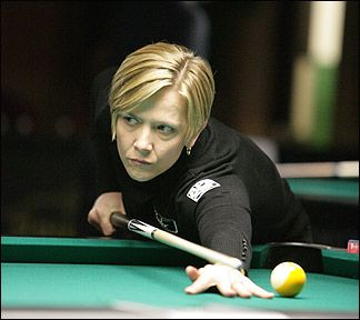 "Allison Fisher: ""Duchess of Doom""  gained rep similar to 15-time darts World Champ Phil Taylor & snooker players Joe Davis, Steve Davis & Stephen Hendry in 1930s & 80s–90s. 2000/01  Won 8 consecutive Major Pro Pool Tournaments. 2005, Highest Earner @ £111,000.  2007, Female Player of Year by all 3 major pool publications,"