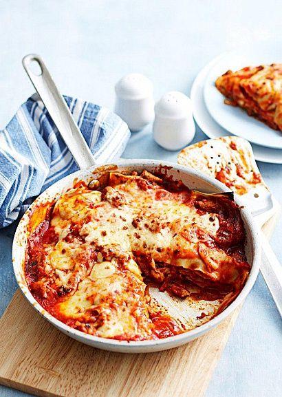 Легкий рецепт итальянской лазаньи