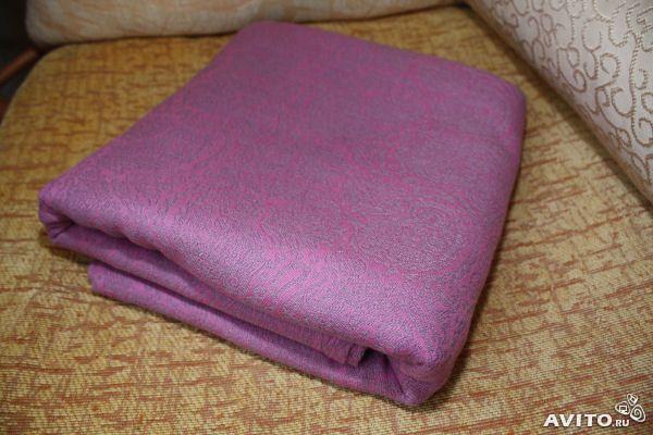 3000 Продается слинг-шарф Ellevill Paisley Silver-Pink , 50% бамбук, 50% хлопок, размер 6. Цена 3 500 рублей.Идеальный младенчиковый шарфик, очень хорош для дома и ношения в теплую погоду. Шарфик куплен прошлой весной, ношен немного и аккуратно, стиран вручн...