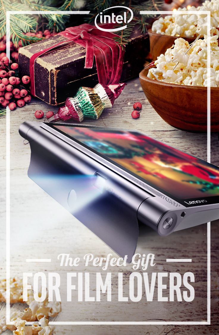 With a stunning built-in 50 lumen projector and multifunctional stand, the Lenovo Yoga Tab 3 Pro 10 is the perfect tablet for the film-lover in your family. Eighteen hours of battery life keeps the viewing marathon going all day long and into the night.  - Intel® Atom™ x5 Processor - Android* 5.0