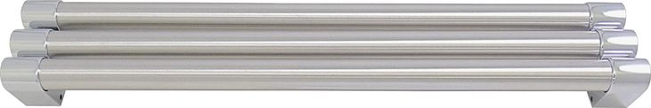 Bosch - Tubular Door Handles for Bosch B22CT80SNS Refrigerators - Stainless-Steel