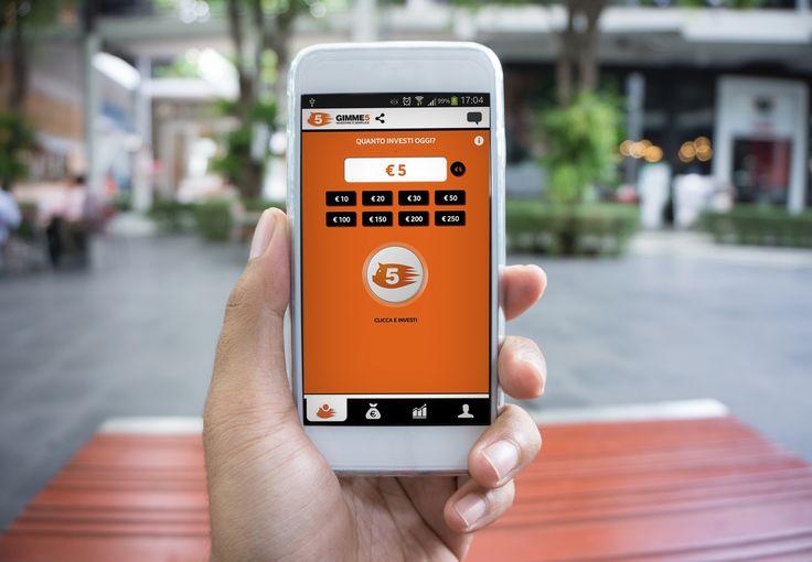 Fissa un obiettivo di risparmio e raggiungilo insieme a Gimme5: la prima App italiana per investire e risparmiare in modo facile e sicuro.