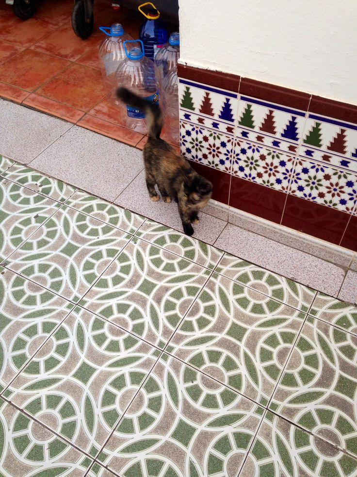 Vackert klinker, beutiful tiles in Gran Canaria