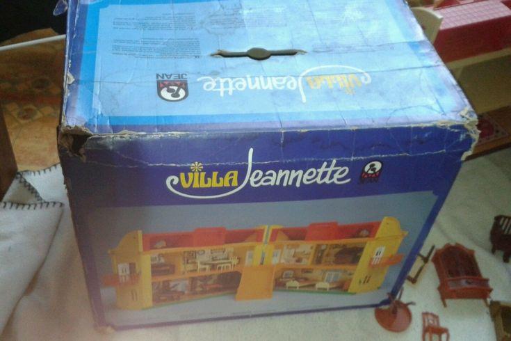 Rare jean dolls house - villa jeannette w.germany 1970s L@@K boxed (make a offer | eBay