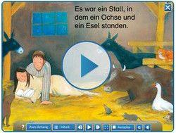 Die Weihnachtsgeschichte kindgerecht aufbereitet zum Weihnachten feiern im Unterricht an der Grundschule