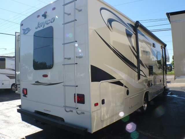 """2016 New Jayco Greyhawk 29MV Class C in Ohio OH.Recreational Vehicle, rv, MSRP: $112,714! *** Ford Triton V10, 2 Slideouts, Air, Power Awning, Jacks, Generator, Rearview/Side Cameras, Over-Cab Bunk, Couch-Bed, Booth Dinette, TV, CD/DVD, Sound System, Microwave, Stove/Oven, Refrigerator, Furnace, Walk-thru Bath, Back Bedroom, 2 Year Warranty *** Options included in this price:Almond Interior *** Customer Value Package:- 15,000 BTU A/C w/ Heat Pump- 24"""" TV in Bedroom- 1000 Watt Inverter…"""