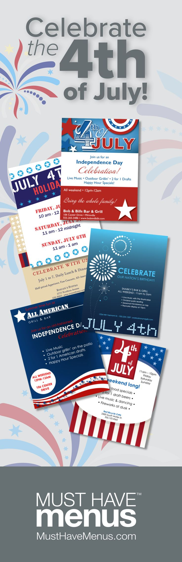 4th of july restaurant deals