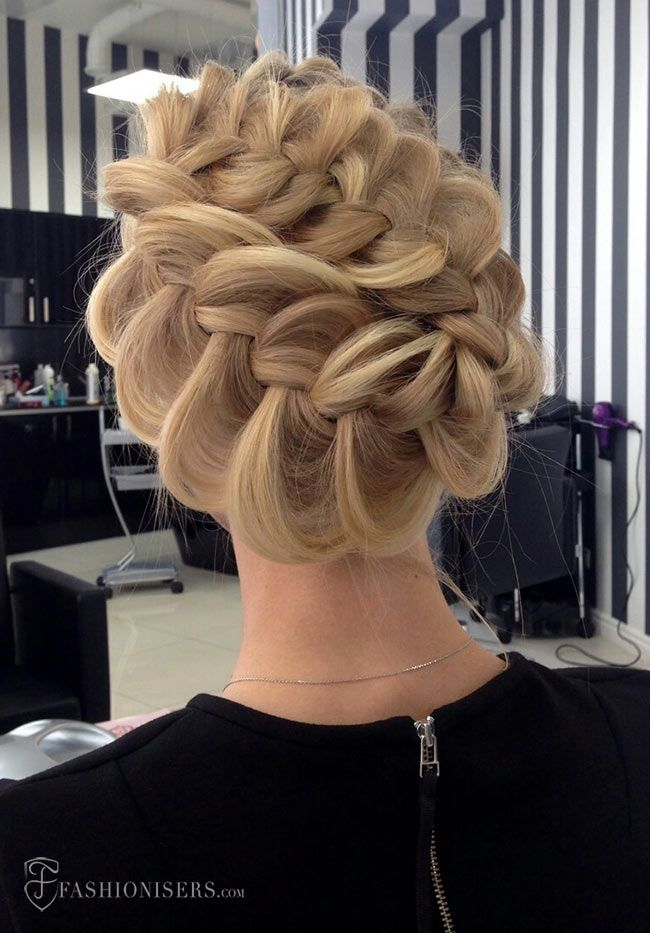 5 Pretty Braided Hairstyles For Prom Braided Prom Hair