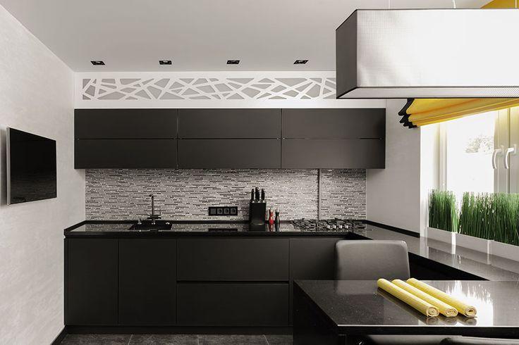 Söker du inspiration för ditt kök och gillar svart? Då får du inte missa dessa 12 moderna inspirationsbilder på svarta kök i en mängd olika stilar.
