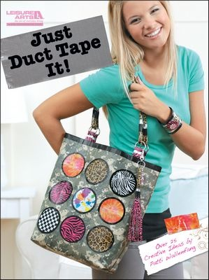The new Duct Tape book by Leisure Arts can be purchased as