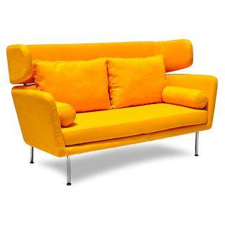 Winged Mid-century Sofa | Overstock.com $1300