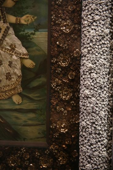 Posters are given the Sabyasachi customisation with couture embroidery.