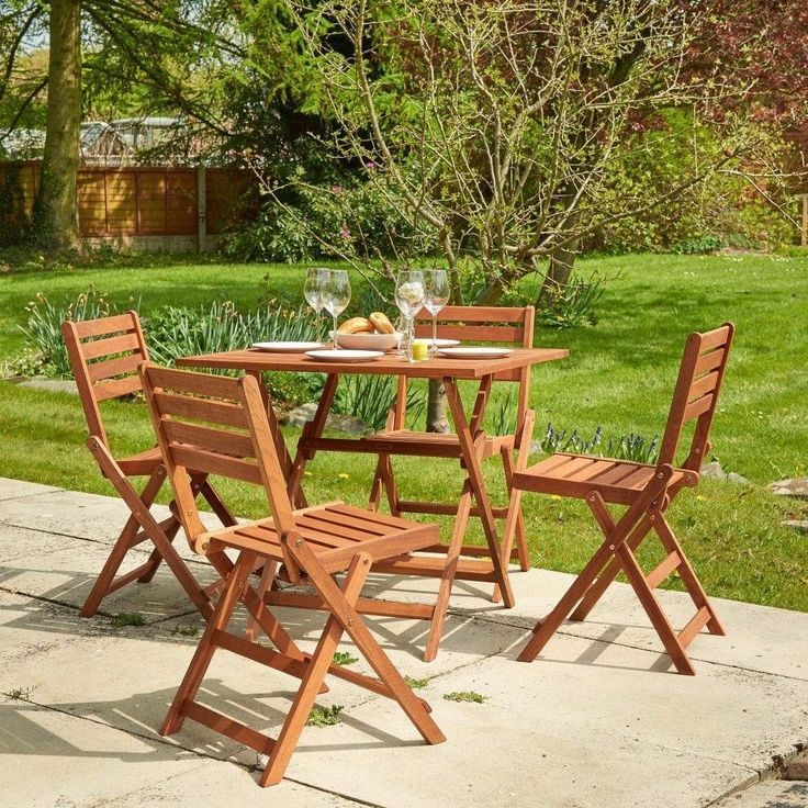 17 Best Ideas About Wooden Garden Furniture Sets On
