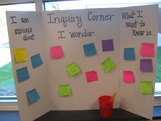 Inquiry Corner. Nice!