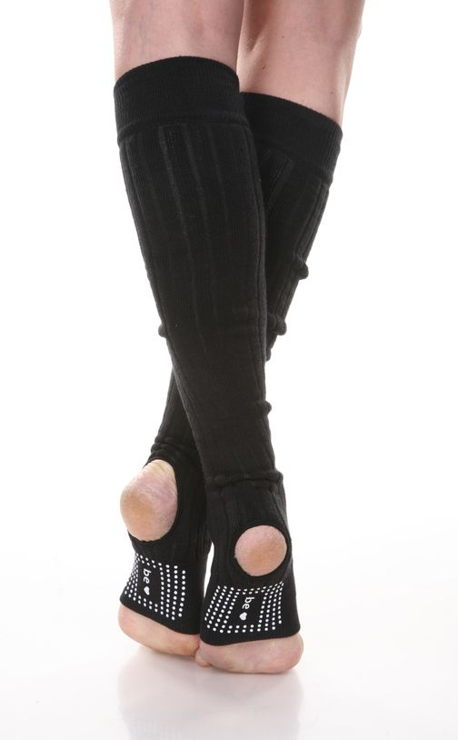 Sticky Dot Legwarmers at THE SWEATBAR.COM.  Whether it's barre, pilates, yoga or dance you will love having inspiration on your sticky socks.