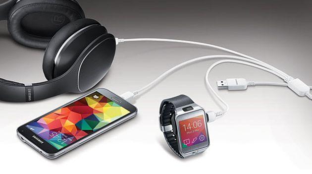 Samsung cable - balaurul cu 3 capete de incarcare.