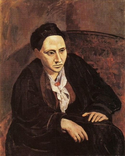 Gertrude Stein was an American author who was known for having a large following in herParisiansalon. Her salon had famous guests like Henri Matisse, Pierre-Auguste Renoir, and Pablo Picasso. Picasso paintedGertrude Steinbetween 1905 and 1906, and it is a testament to his patronage and friendship. This work appears simpler than some of Picasso's other paintings, and it is a beautiful testament to this important woman in his life.