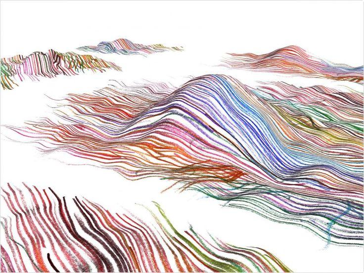 Vincent Mauger  Sans titre #3, dessin numérique, 30 x 40 cm, 2009, édition de 5 exemplaires originaux.  untitled #3, digital drawing, 30 x 40 cm, 2009, edition of 5 original prints.