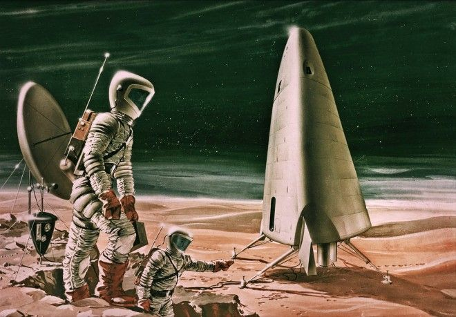 Manned Mars Surface Missions (1966)