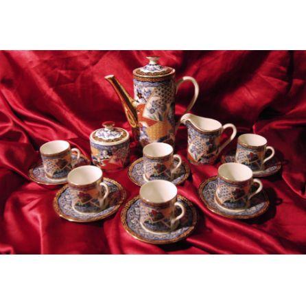 Imari Japanese tea set