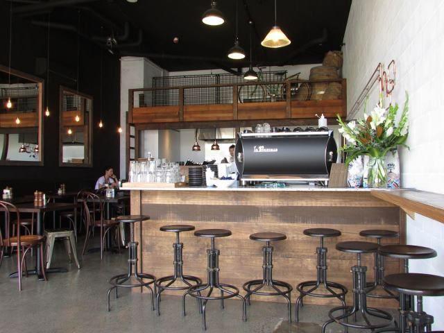 restaurant cafe bar hospitality industrial interior design