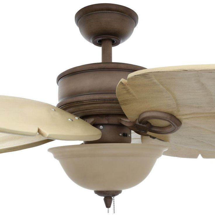 Hampton Bay Costa Mesa 56 in. Indoor/Outdoor Weathered Zinc Ceiling Fan - 52656 - The Home Depot