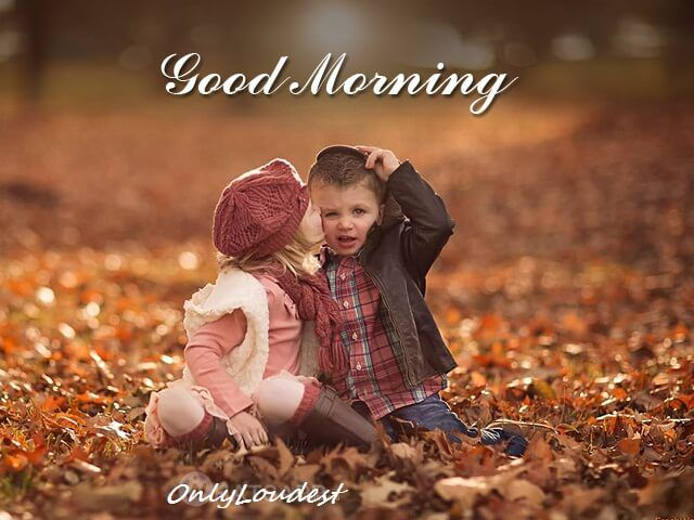 40 Beautiful Good Morning Love Quotes For Her Cute Baby Couple Children Photography Kids Photos