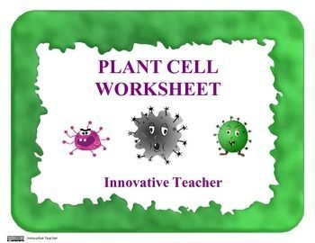 This is a wonderful worksheet with a clear and beautiful image of an plant cell. My students have been able to clearly see the parts of the cell and accurately label each part. (Plant parts included are Cell Wall, Cell Membrane, Vacuole, Nucleus, Nucleus Membrane, Chloroplast, Mitochondria, Cytoplasm)