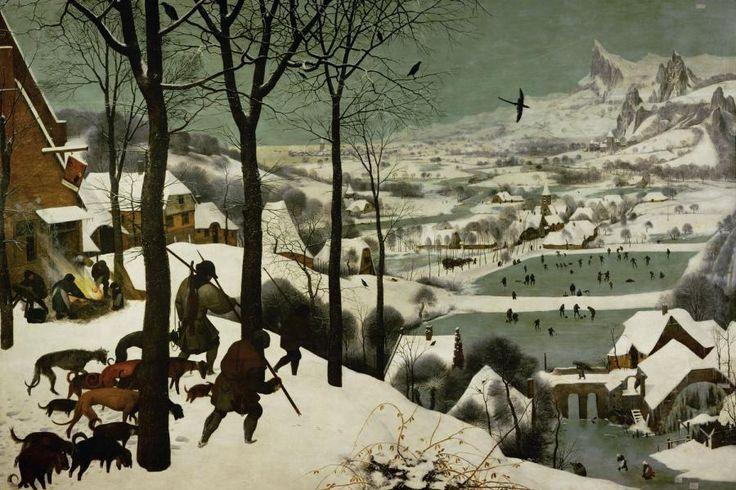 Die Kleine Eiszeit in der Kunst - Pieter Brueghel d. Ä.