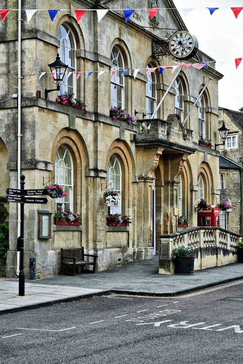 welcometothecotswolds: Town Hall in Corsham, Wiltshire