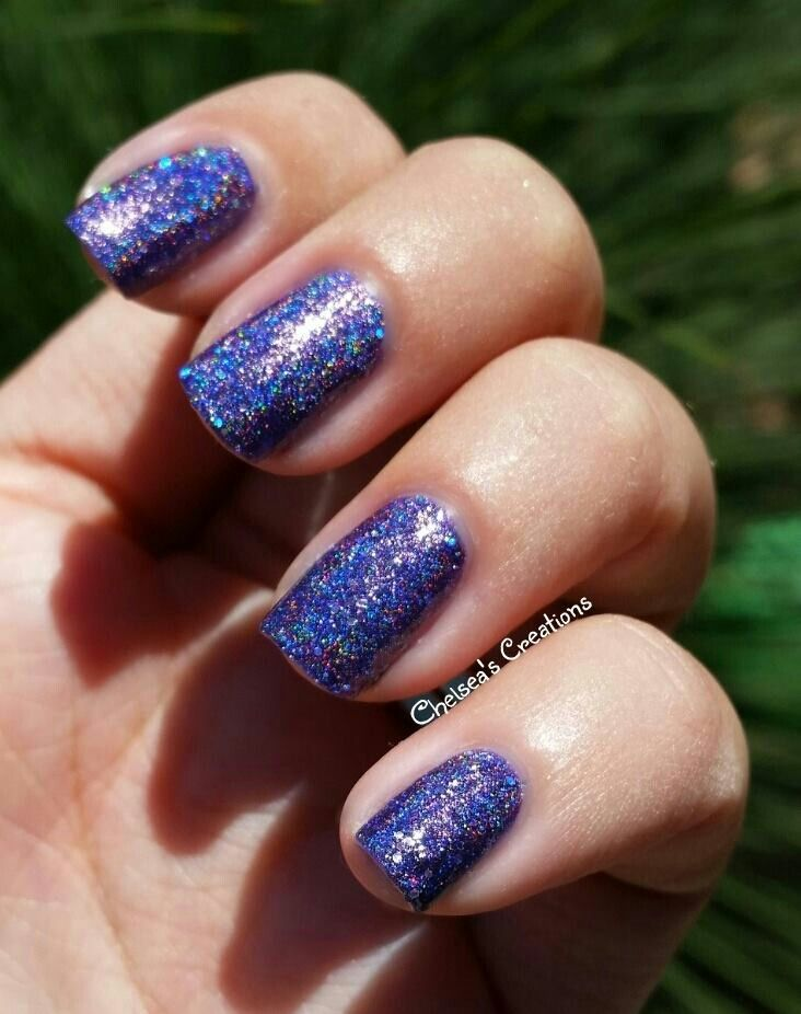 Nail Stamping Queen ~ Love, Lilac