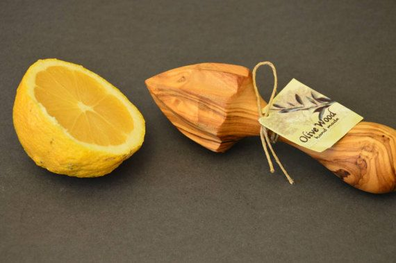 Check out this item in my Etsy shop https://www.etsy.com/listing/507250121/handmade-olive-wood-lemon-squeezer