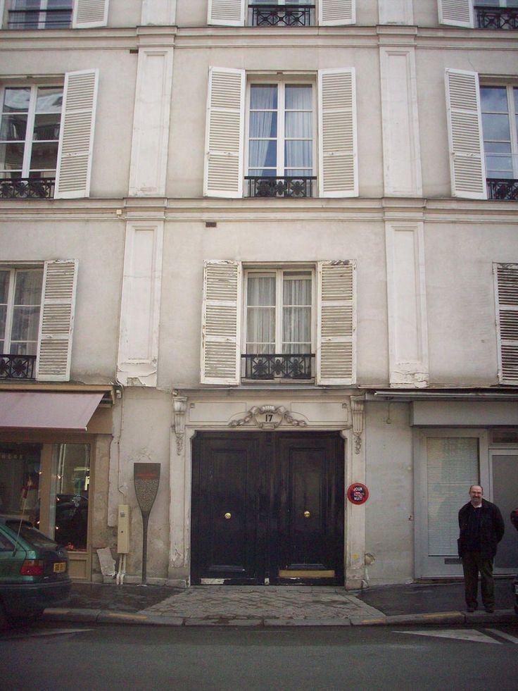 https://flic.kr/p/7Te5D8 | 17 Rue de Tournon, Paris 6ème. Maison où est mort Gérard Philipe en novembre 1959.
