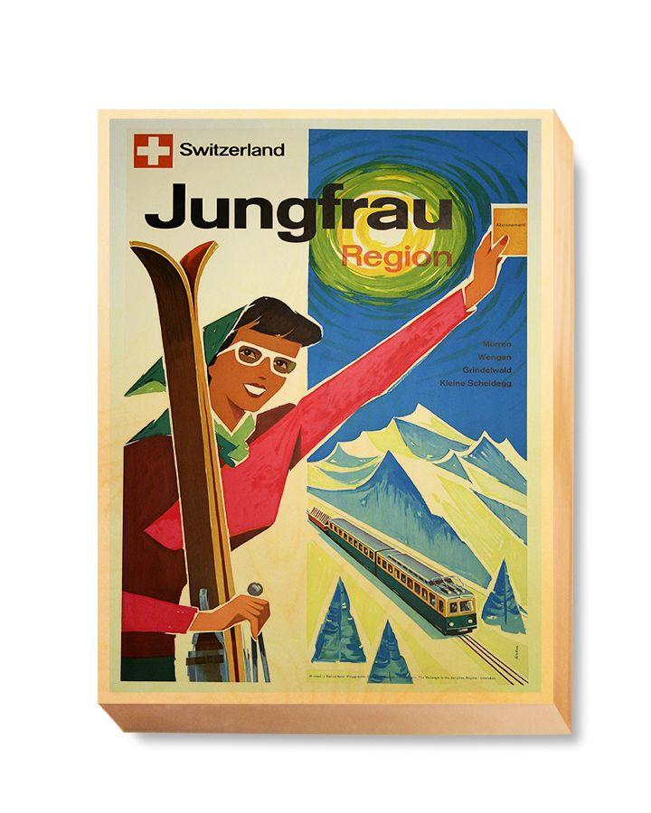 TRV 062 Travel Art Jungfrau Region