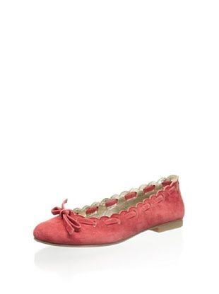 65% OFF Gallucci Kid's Ballet Flat (Rosso)