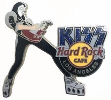 Hard Rock Cafe 2006 Los Angeles Global KISS Series-Ace Frehley Pin