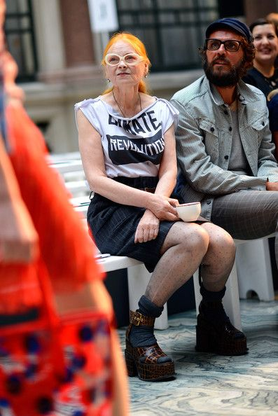 Vivienne Westwood and Andreas Kronthaler (punk fashion designer and sports photographer)