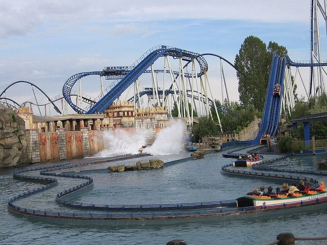 GERMANY Europa park - Rust. This place looks amazing, themed areas including china, iceland and italy