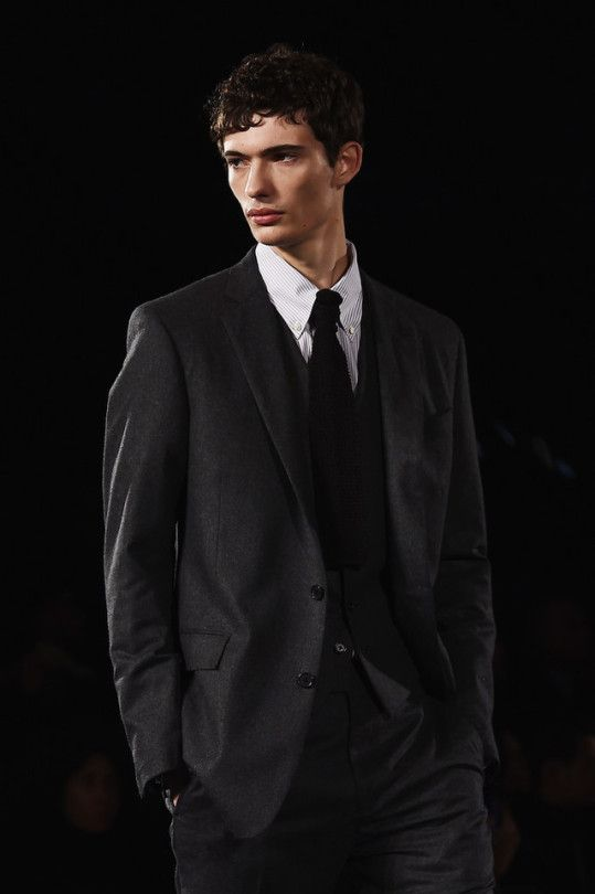 Piero Mendez at Brooks Brothers F/W 2018 by Stefania M. D'Alessandro