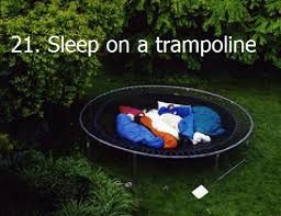 I guess I'd need to get a trampoline first, but I could imagine doing this all summer.