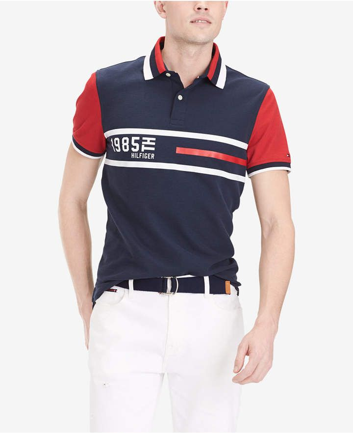 Impuestos Álgebra auge  Tommy Hilfiger Men Logo Graphic Polo   Mens casual outfits, Mens outfits, Tommy  hilfiger