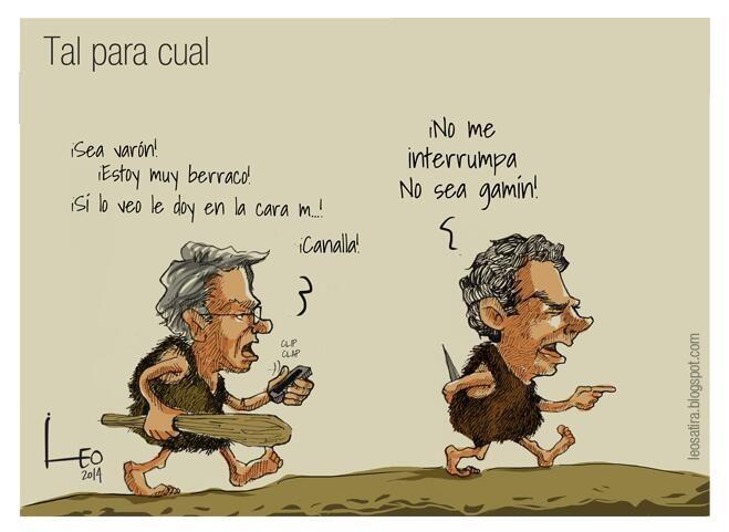 Tal para cual...  #Caricatura