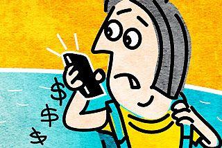 Beating bill shock of global phoning