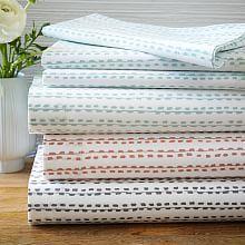 Contemporary Bedding Bed Sheet Sets   west elm