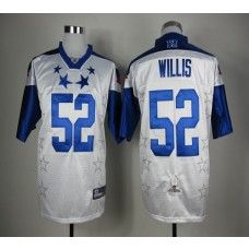 49ers #52 Patrick Willis White 2012 Pro Bowl Stitched NFL Jersey