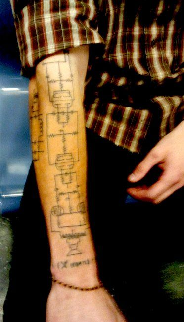 fe57439a68a62a0adc710b14943a0a1c guitar amp guitar tattoo 2261 best circuit art & architecture images on pinterest tattoo wiring diagram tattoos at sewacar.co