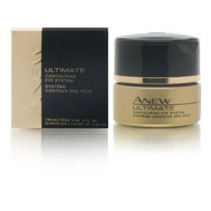 Avon Anew Ultimate Contouring Eye System by Avon. $22.95. An Extraordinary 2-Part Eye Treatment. Unlock the power to reshape, repair & recontour the skin around your eyes. AVON ANEW ULTIMATE CONTOURING EYE SYSTEM : An Extraordinary 2-Part Eye Treatment. Unlock the power to reshape, repair & recontour the skin around your eyes..... PART 1 - CONCENTRATED ELIXIR: 2 times the level of an intensive densifying ingredient to help reduce the look of undereye bags and fat pock...