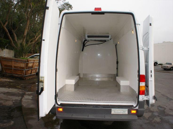 Refrigerated Cargo VanInsulated Van Conversion UpfitRefrigerated UpfitInsulated Truck