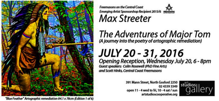 The Adventures of major Tom ~ Max Streeter ~ Exhibtion